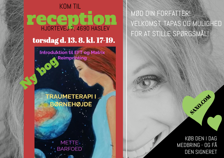 Read more about the article Traumeterapi i Børnehøjde – introduktion til EFT og Matrix Reimprinting